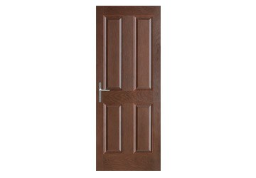 door with four panels