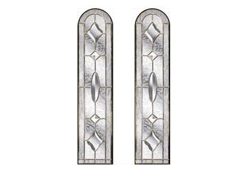 brass art clarity door windows