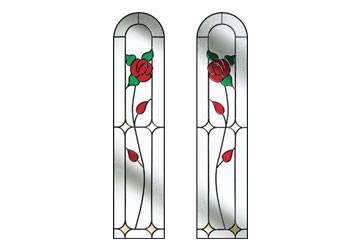door windows english rose