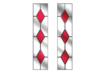 drop diamond red windows