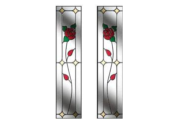 english rose style windows