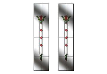 fleur style glass