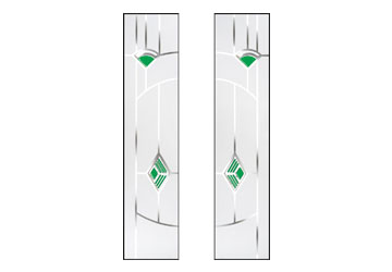 murano green glass