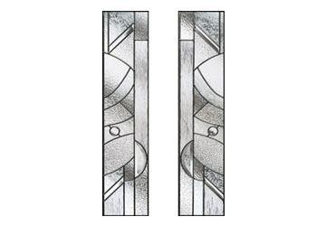 zinc art abstract style windows