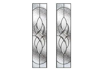 zinc art elegance glass for doors