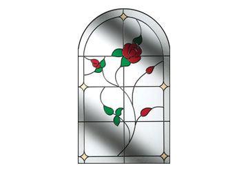 window for composite door english rose
