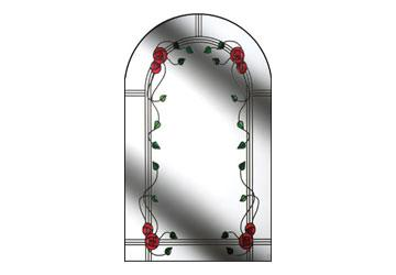 door window mackintosh rose