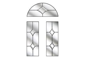 crystal diamond style windows