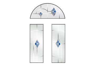 murano blue windows
