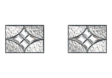 zinc art elegance small glass panels