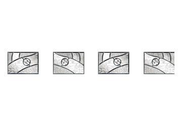 zinc art absract door panels