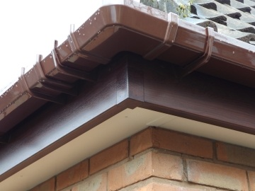 edge of guttering