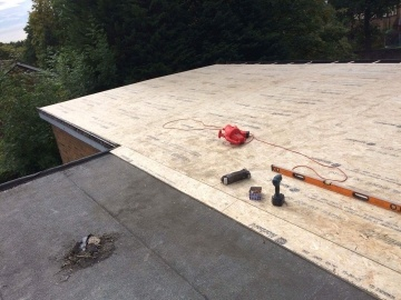flat roof for garage