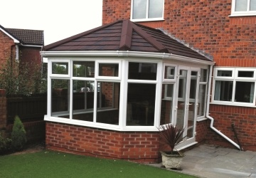 after image for conservatory roof example